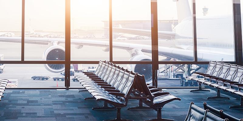 Corona-Flughafen
